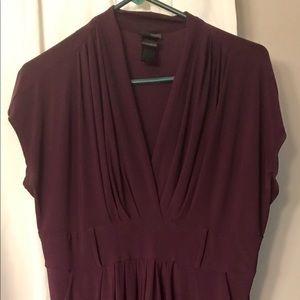 Dresses & Skirts - Women's Sleeveless Dress - 18W - Wine